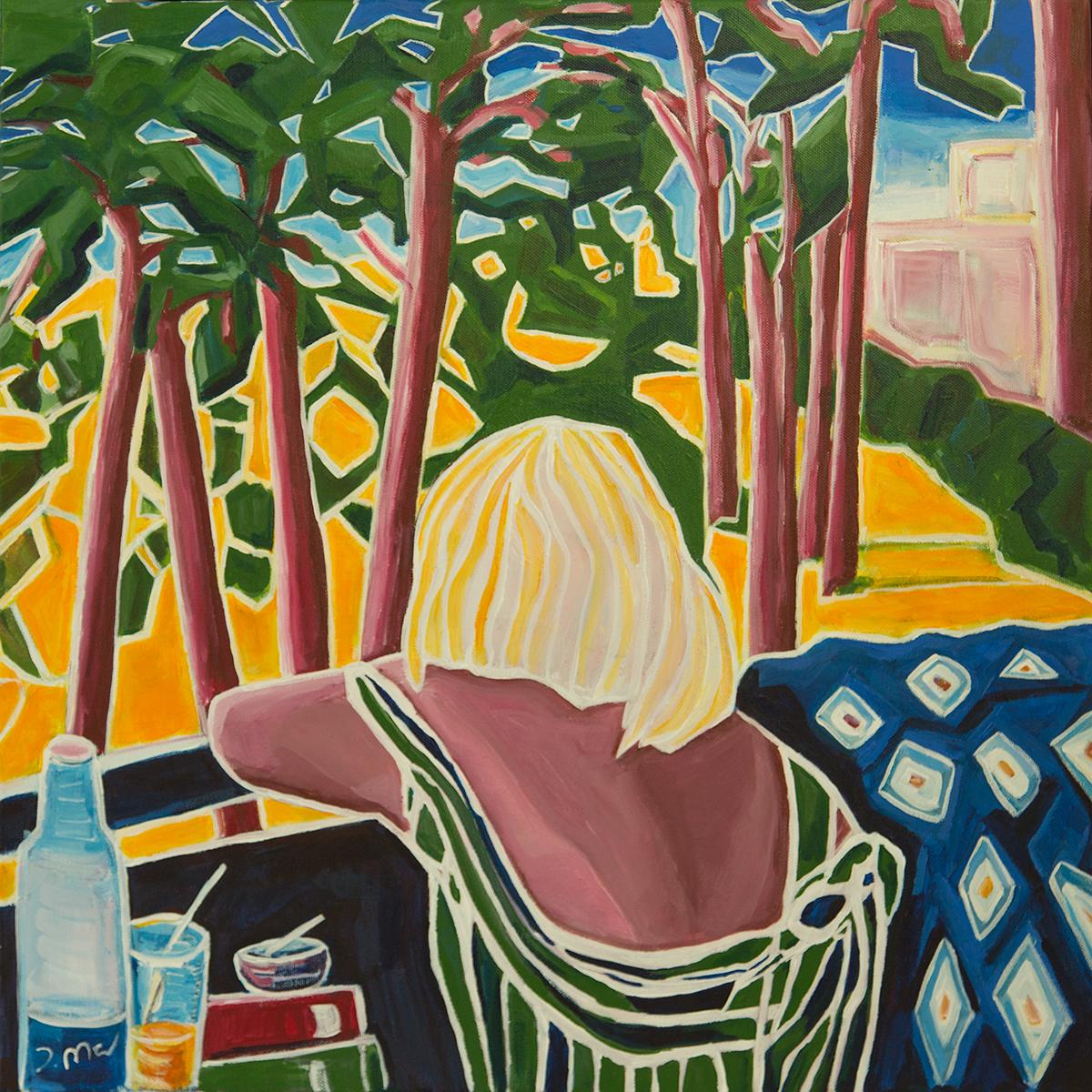 Last days of summer original painting by Judith Marder