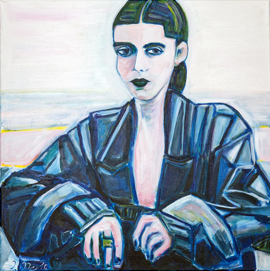 Klara II Original painting by Judith Marder