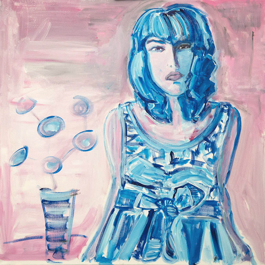 Ina by by Judith Marder original painting