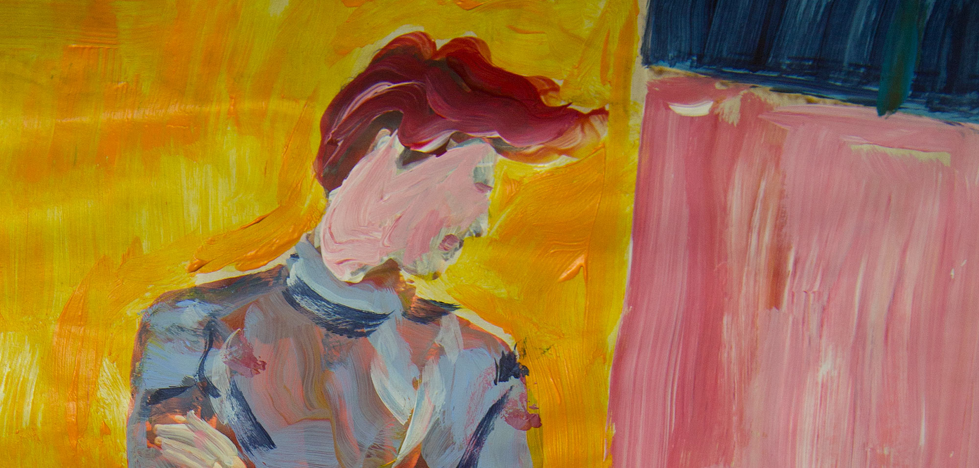 Never mind original painting by Judith Marder